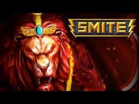 Smite ANHUR Gameplay (Moba 3D)