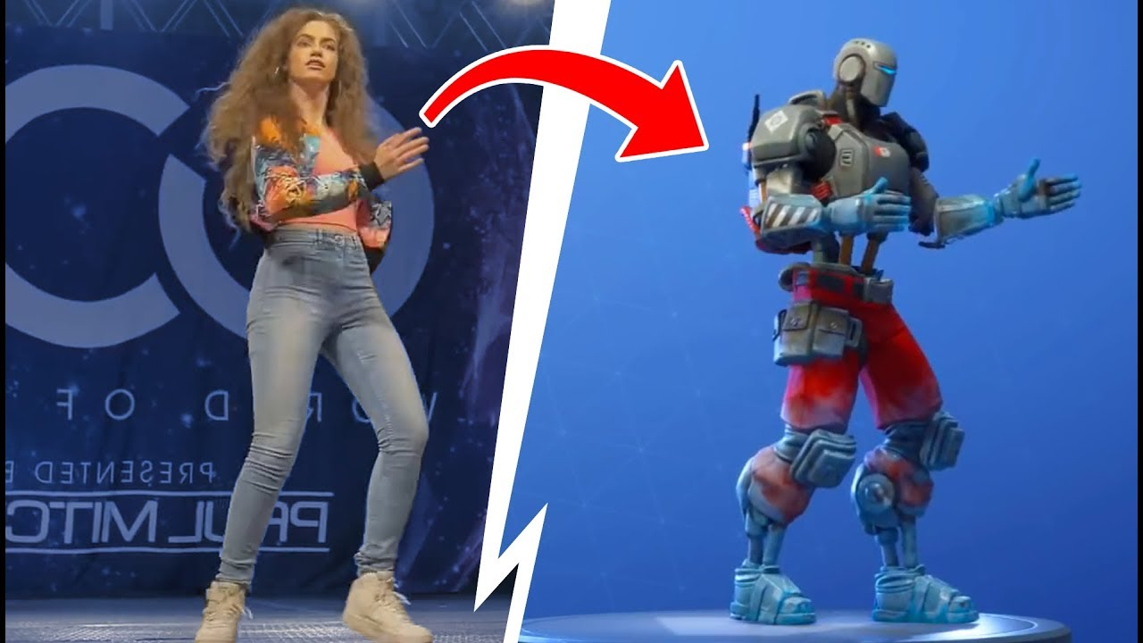 30 Bailes De Fortnite En La Vida Real Youtube