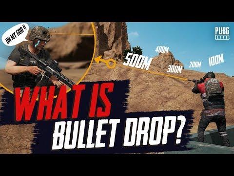 PUBG LITE - WHAT IS BULLET DROP & ZEROING?