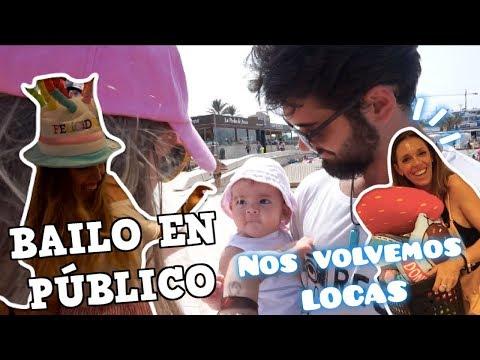 BAILO EN PÚBLICO Y PEDRO ME DA UN SUSTO DE MUERTEEE!😳⎮Vlog Diario