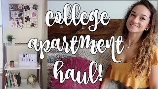 college apartment haul 2018!