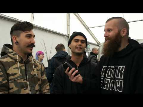 In Hearts Wake Download Festival Interview 2015