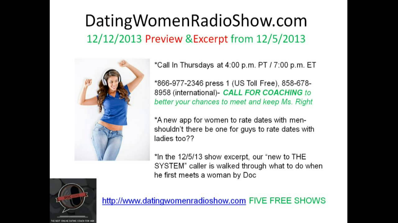 Dating woman radio show
