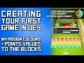 #14 Assign Colour & Points Values to the Blocks | Unreal Engine 4 Blueprint Tutorial Series