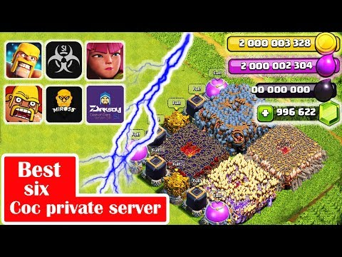 Best Six COC private servers 2018 | Clash of clan