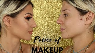 POWER OF MAKEUP INSPIRED BY NIKKIE TUTORIALS || GIO DREVELI ||