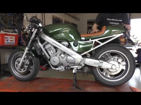 cafe racer honda 650 ntv youtube. Black Bedroom Furniture Sets. Home Design Ideas