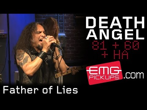 """Death Angel plays """"Father of Lies"""" live on EMGtv"""