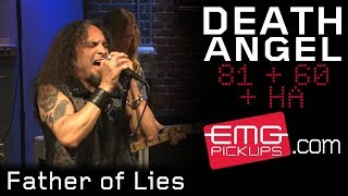 "Death Angel plays ""Father of Lies"" live on EMGtv"