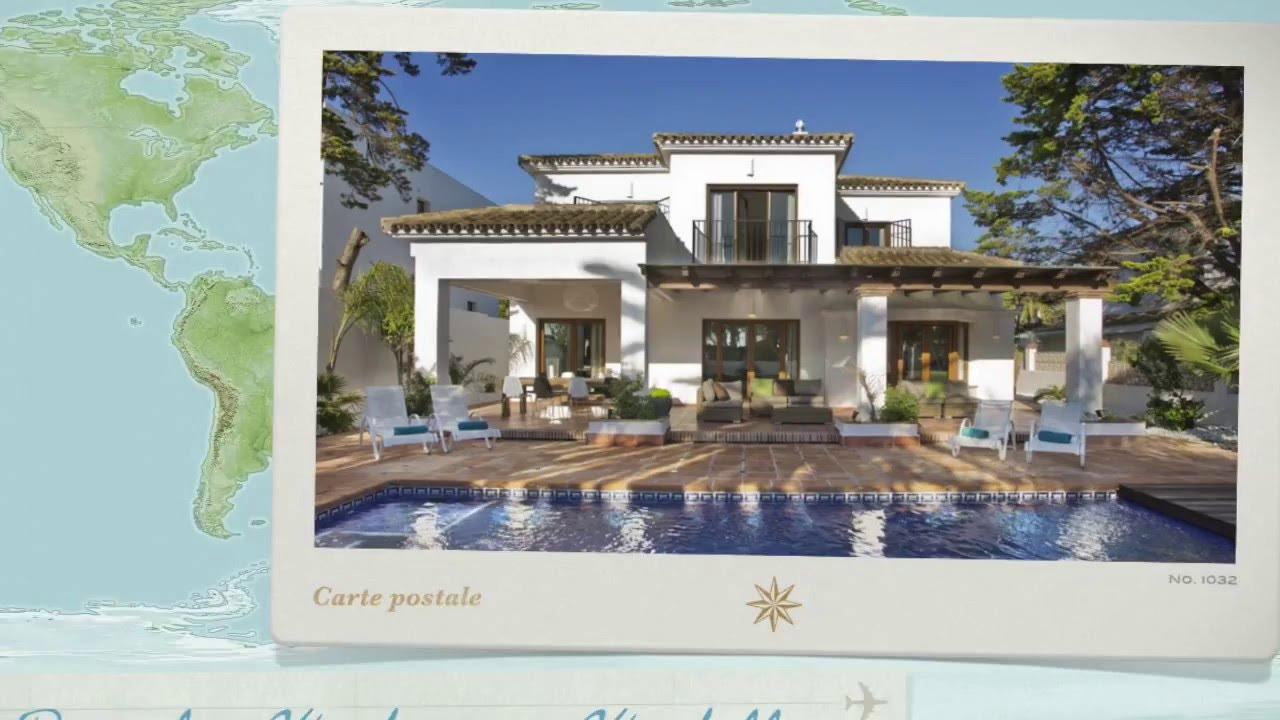 villa de luxe espagne marbella location villa espagne. Black Bedroom Furniture Sets. Home Design Ideas