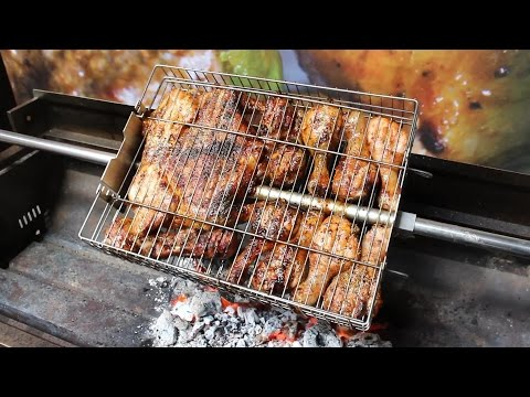 Flaming Coals Multi-Use Basket For Large Rotisseries