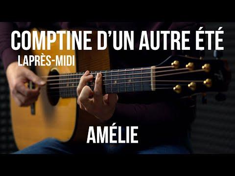 Yann Tiersen - Comptine d'un autre été (from Amélie) -  Fingerstyle Guitar