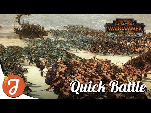 My Happy Place | Beastmen Vs Lizardmen | Total War: WARHAMMER II |