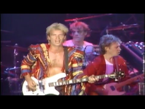 The Police - Message In A Bottle ᴴᴰ [Live]