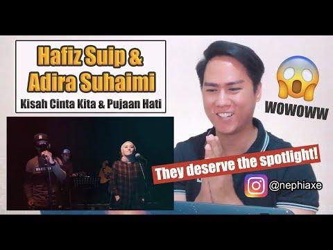 Free Download [singer Reacts] Erakustik : Hafiz Suip & Adira Suhaimi - Kisah Cinta Kita & Pujaan Hati Mp3 dan Mp4