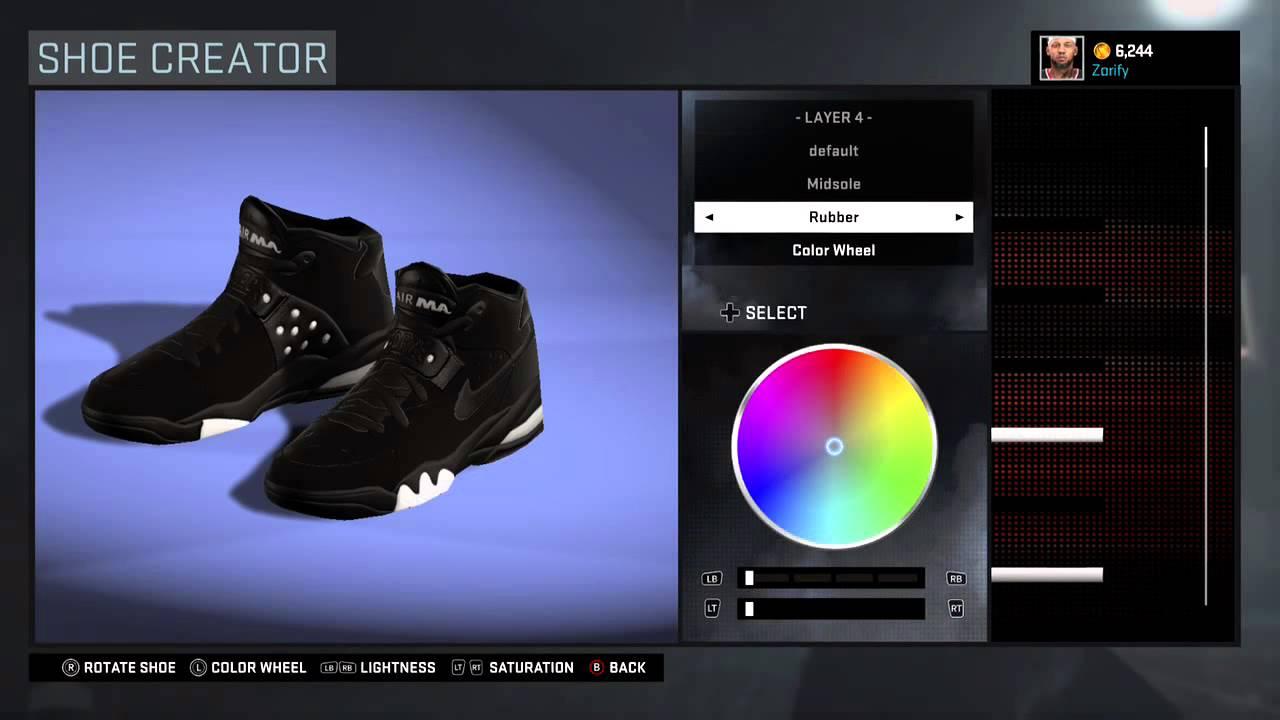 Shoe Fab Creator Force Youtube Air Nike Five Nba Max 2k16 agRqwax6