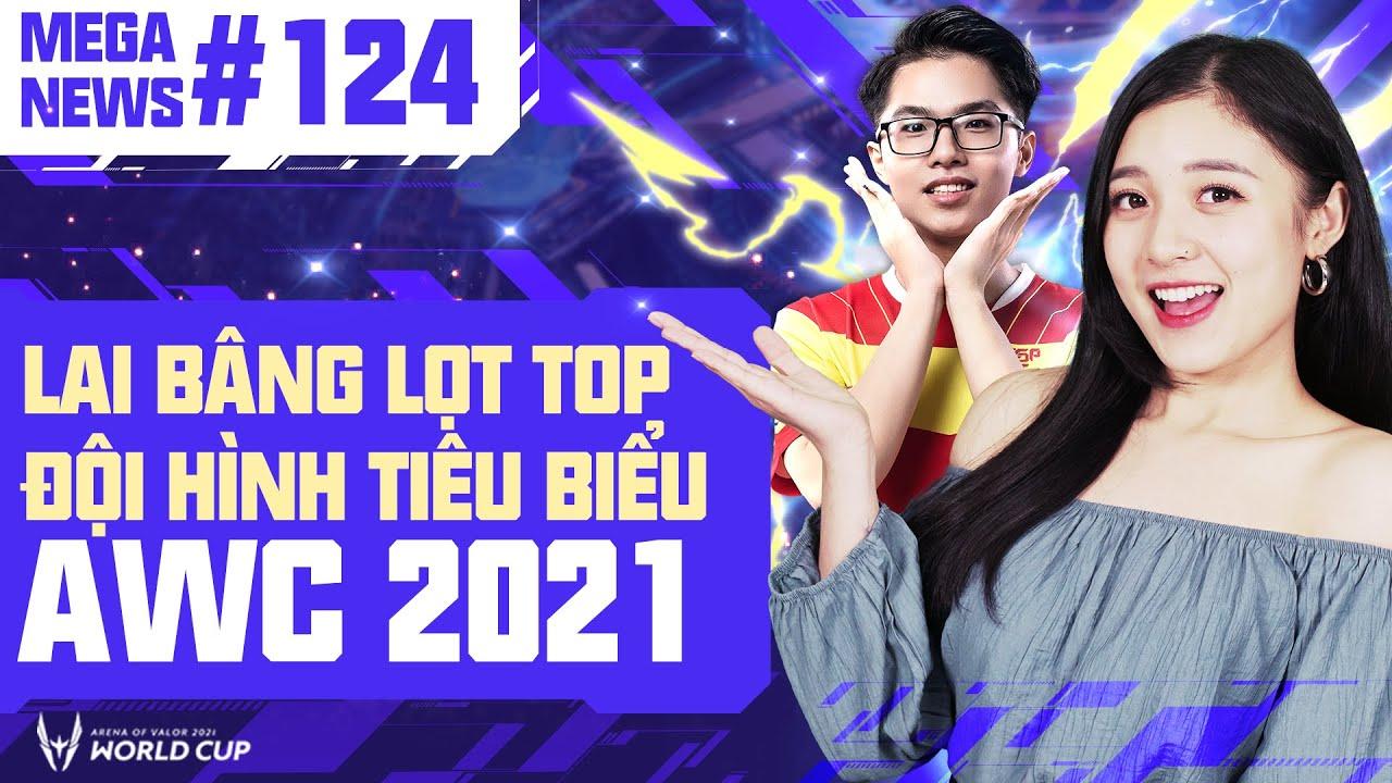 MEGA NEWS #124: SGP BÂNG LỌT TOP ĐỘI HÌNH TIÊU BIỂU, AWC 2021 PHÁ VỠ CỘT MỐC VỀ LƯỢT XEM Ở AIC 2020
