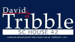 WBCU - David Tribble Campaign Announcement on WBCU 1460 AM Rad…
