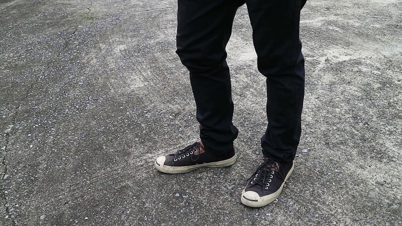 Jack purcell review on feet - YouTube
