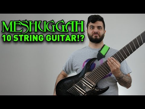what if meshuggah tuned down? (10 string guitar riff compilation)