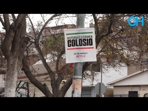 Netflix promociona serie Colosio en Tijuana