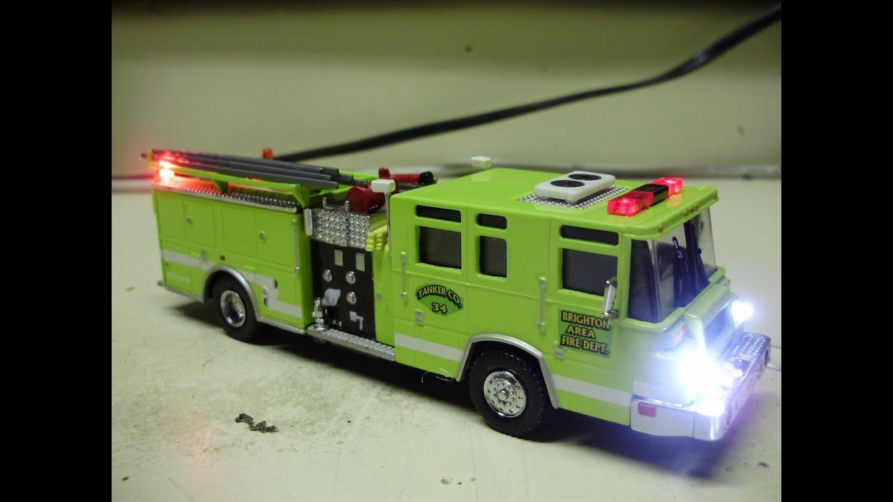 Diecast Fire Trucks With Lights Www Pixshark Com