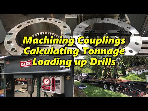 SNS 177: Machining Couplings, Hydraulic Press Tonnage
