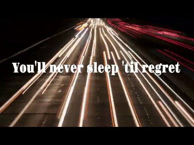 The Young Wait -  'Never Sleep 'til Regret' (lyric video)