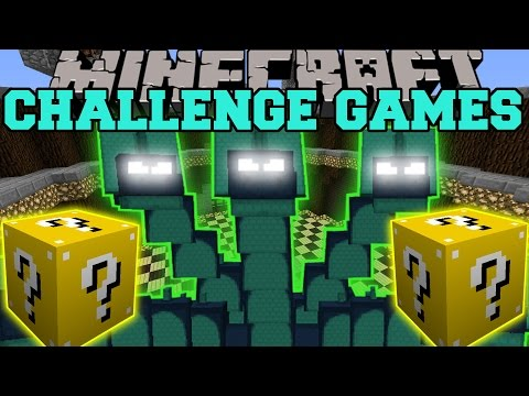 Minecraft: HYDRA CHALLENGE GAMES - Lucky Block Mod - Modded Mini-Game