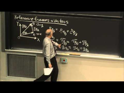 1. History of Dynamics; Motion in Moving Reference Frames