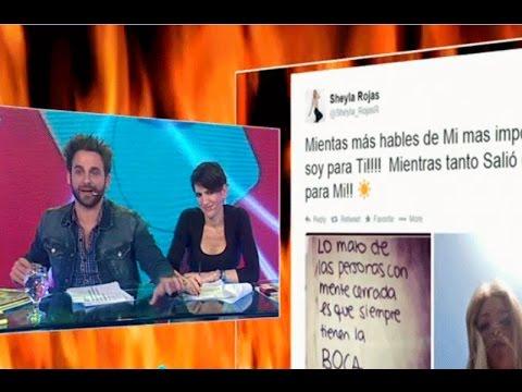 Sheyla Rojas critica a 'Peluchín' vía Twitter por su 'mente cerrada'