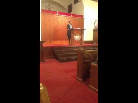 Minister Terrell preaches Grow Up