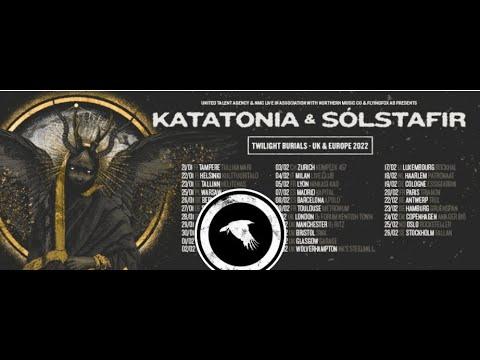 Katatonia announce 'Twilight Burials' tour 2022 w/ Sólstafir