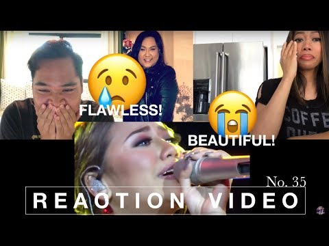 MORISSETTE AMON // never enough & wind beneath my wings (live at laguna) REACTION VIDEO No. 35
