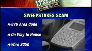 Fraud Squad:  Scammers Use Sweepstakes To Steal Money