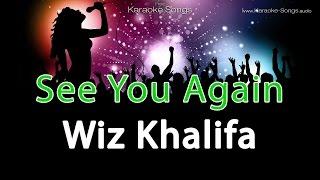 Wiz Khalifa - See You Again ft. Charlie Puth Instrumental Karaoke Version with vocals and lyrics