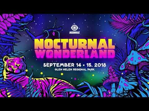 Nocturnal Wonderland 2018 Announce Mp3