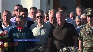 В Тирасполе памятные мероприятия прошли на мемориале Славы