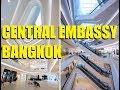 Central Embassy and Eathai (the Thai Eataly)