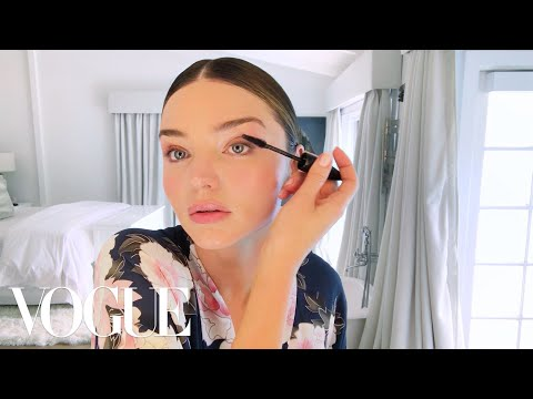 Miranda Kerr Applies Her Glowing Wedding Day Makeup  Beauty Secrets  Vogue