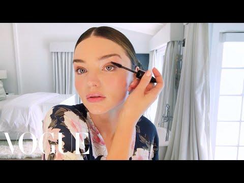Miranda Kerr Applies Her Glowing Wedding Day Makeup   Beauty Secrets   Vogue