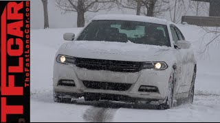 2015 Dodge Charger SXT Snowy AWD TFL4K Review: The Winter Warrior