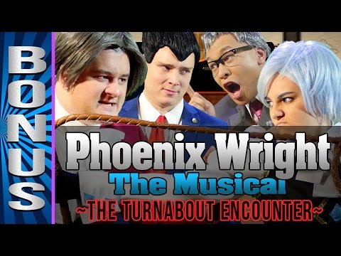 Phoenix Wright Musical Behind the Scenes