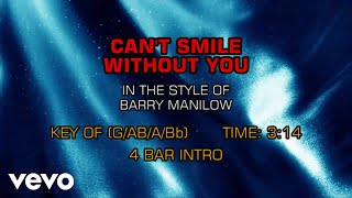 barry-manilow---can-t-smile-without-you-karaoke