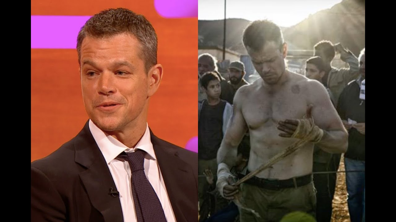 matt damon young