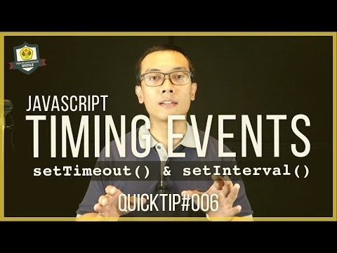 QuickTip #6 : TIMING EVENTS Pada JAVASCRIPT