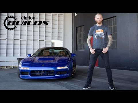 Chris Forsberg Takes the Clarion Builds Acura NSX on its First Drive