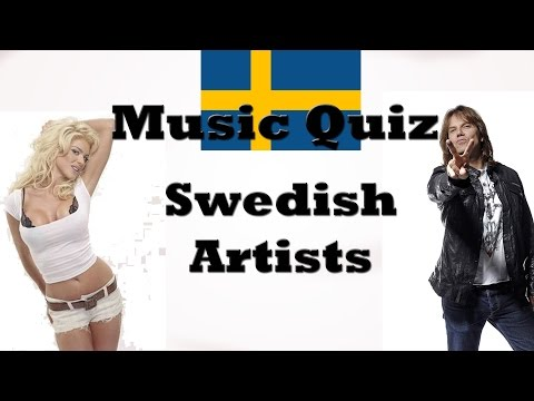 Music Quiz - Swedish Artists