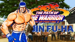 Art of Fighting 3: The Path of The Warrior (Arcade) - Jin Fu-ha playthrough without TAS
