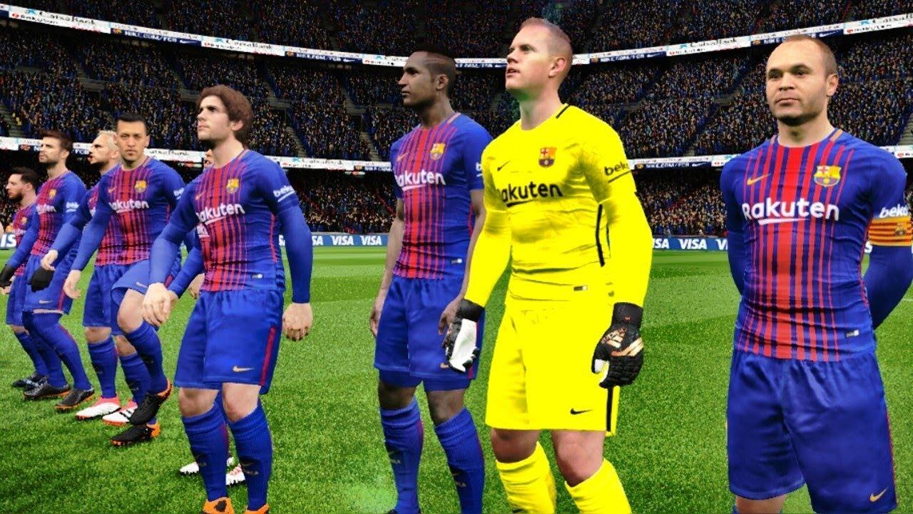 Barcelona vs Getafe 11 February 2018 Gameplay